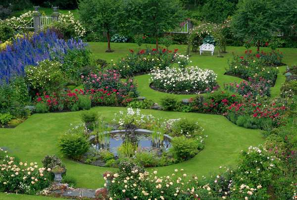 A Scottish Rose Garden jigsaw puzzle Cranhamcom